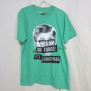 Green Tee from Christmas Story Movie, Large NWT